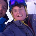 Renzi selfie Courmayeur Capodanno